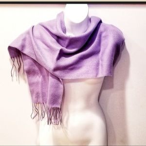 "NWT Vintage Lavender ""Wool Touch Scarf"""